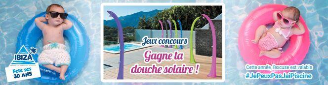"""Piscines Ibiza fête ses 30 ans : gagnez une piscine ou un spa en participant au jeu-concours. <span class=""""normal italic petit"""">© Piscines Ibiza</span>"""