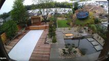 Timelapse : l'aménagement d'un jardin avec Piscines Magiline