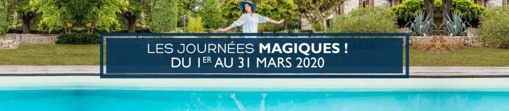 Piscines Magiline : les Journées Magiques© Piscines Magiline