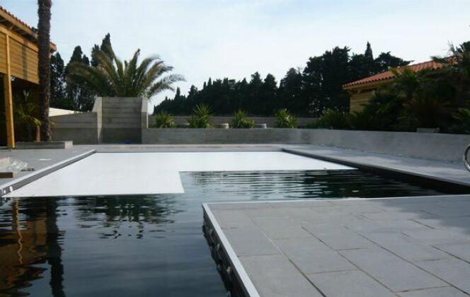 Volet de piscine Marinal © Piscines Marinal