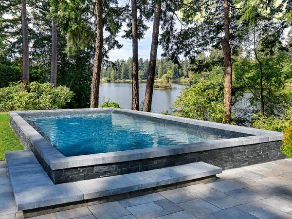 Piscines Marinal : des piscines traditionnelles en béton© Piscines Marinal