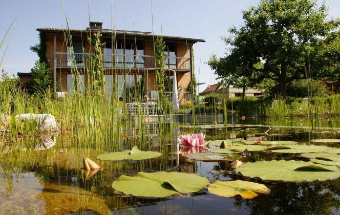Piscines naturelles et bassins de baignade écologique BIOTOP © Living-Pool de BIOTOP - www.baignade-ecologique.com