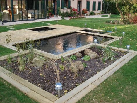 piscines naturelles par patrick lemaire paysage. Black Bedroom Furniture Sets. Home Design Ideas