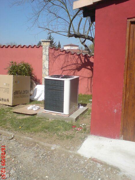 """Installation de pompes à chaleur<span class=""""normal italic petit"""">DR</span>"""