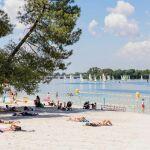 Plage du Lac à Bordeaux