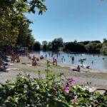 Plan d'eau à Gambsheim