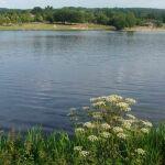 Plan d'eau de Sagnat à Bessines sur Gartempe