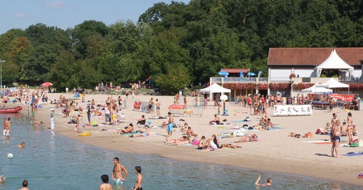 Plan d 39 eau du baggersee strasbourg illkirch horaires tarifs et t l phone - Horaire piscine wacken strasbourg ...