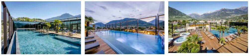 Plus belle piscine de tourisme et de loisirs - 3ème place© Hotel Therme Meran