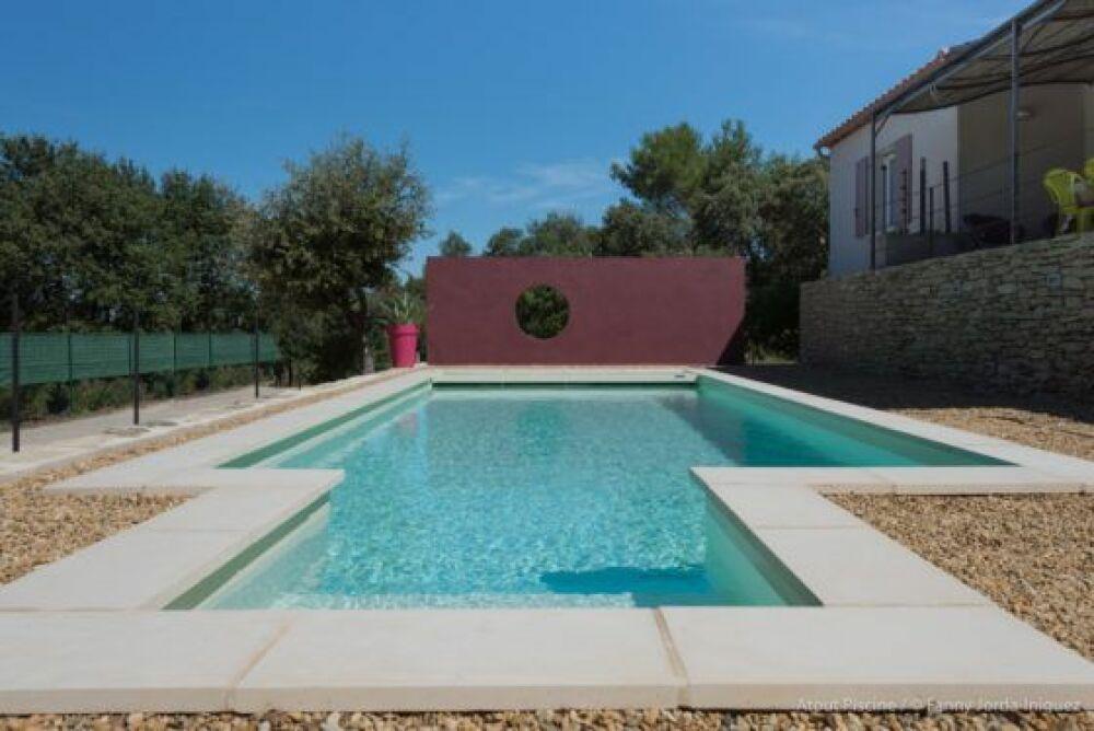 Plus belle réalisation piscine pour Aquilus Uzès (30)© Aquilus Piscines et Spas