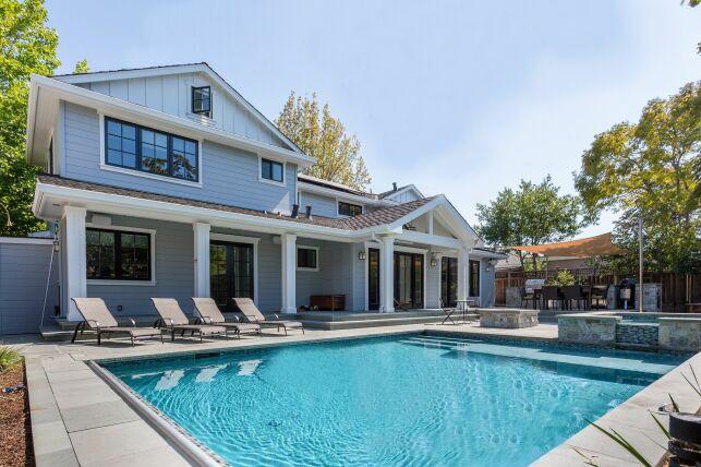Plus-value d'une maison avec piscine