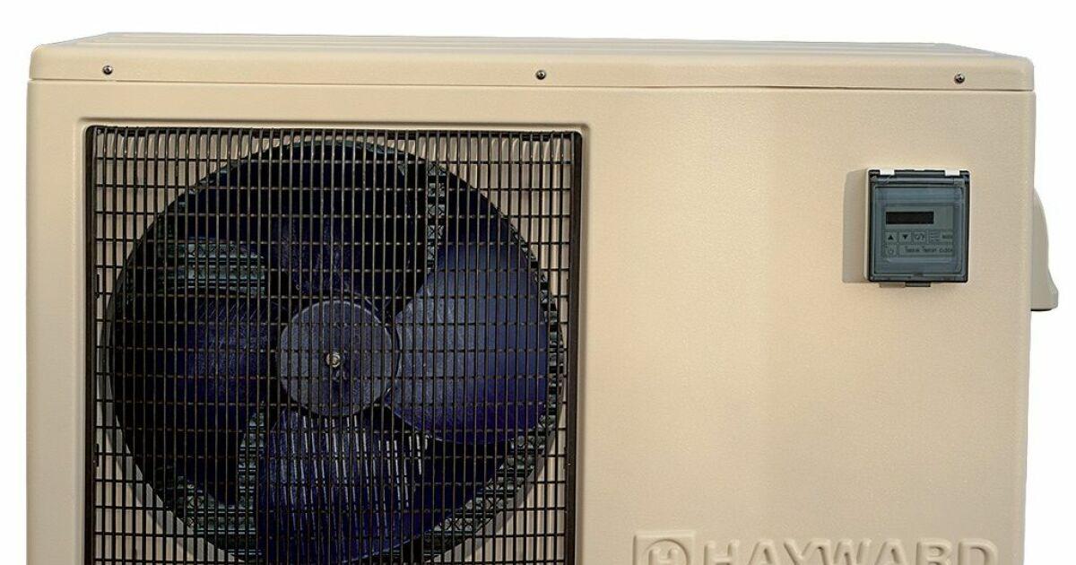 pompe chaleur easytemp d 39 hayward. Black Bedroom Furniture Sets. Home Design Ideas