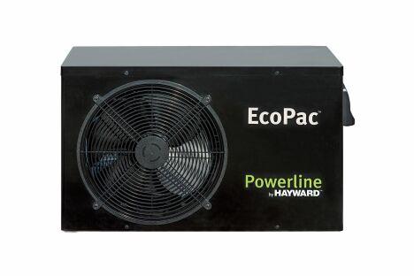 """La pompe à chaleur EcoPac Powerline présente un excellent rapport qualité/prix.<span class=""""normal italic petit"""">© Hayward Pool Europe</span>"""