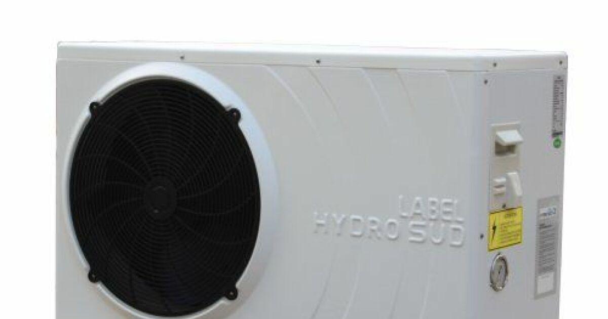 Pompe chaleur pour piscine label hydro sud for Pompe pour chauffer piscine