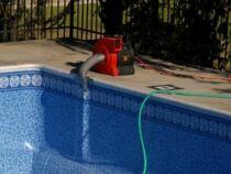 Pompe d'évacuation d'eau