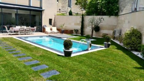 "Poolclean Piscines à Carbon Blanc  <span class=""normal italic petit"">© Poolclean Piscines</span>"
