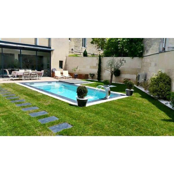 Poolclean piscines carbon blanc carbon blanc for Accessoire piscine 33
