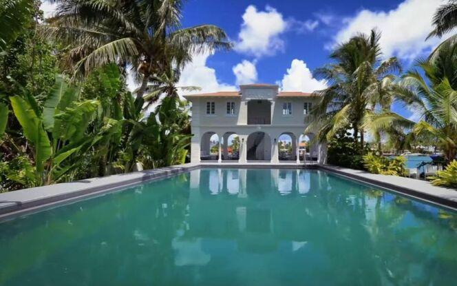 Pool House de la villa d'Al Capone