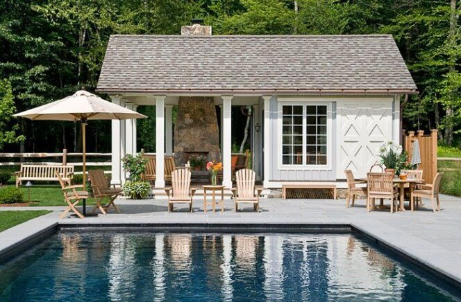 "Pool house design   <span class=""normal italic petit"">DR</span>"
