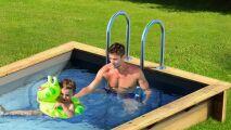 Petite piscine astucieuse : Pool N'Box par Procopi