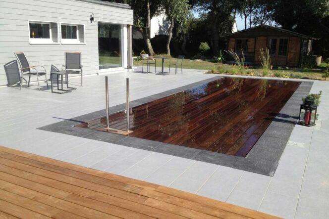 Pooldeck par Azenco : une vraie terrasse