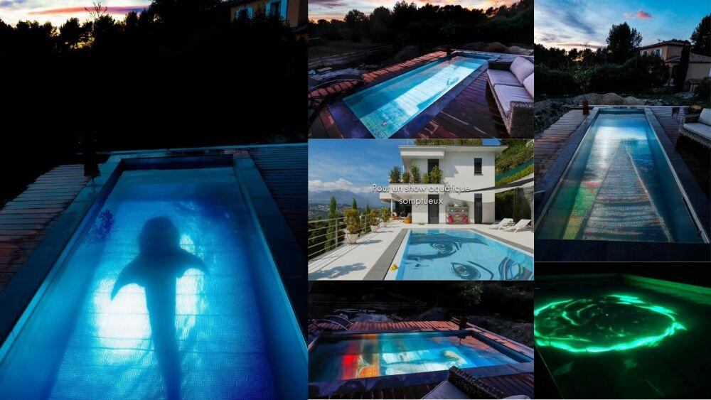 Pooloop : votre piscine devient un écran géant© Pooloop
