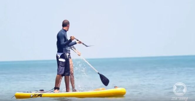 "Poolstar étoffe son offre de Stand Up Paddle  <span class=""normal italic petit"">© Poolstar</span>"