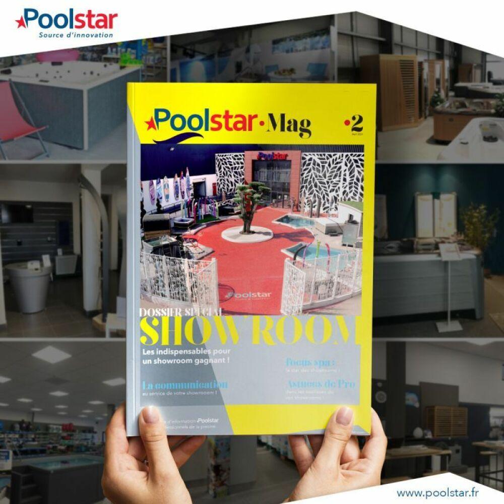 Poolstar présente le nouveau numéro de son magazine© Poolstar