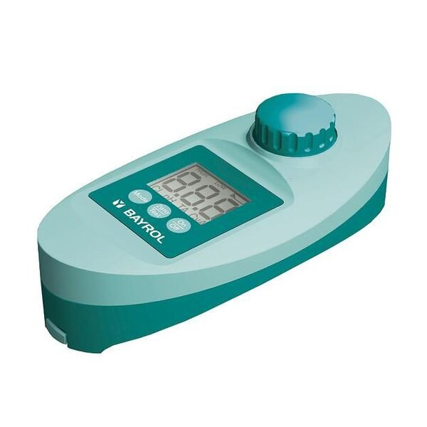 Pooltester electronique par bayrol appareil d 39 analyse de - Analyse de l eau piscine ...