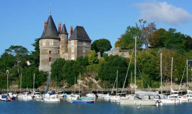 Pornic, ville portuaire, est l'endroit idéal pour se détendre en cure de thalasso entre terre et océan au Pays de la Loire.