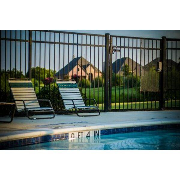 Porte de s curit pour piscine bois pvc alu normes for Porte de piscine