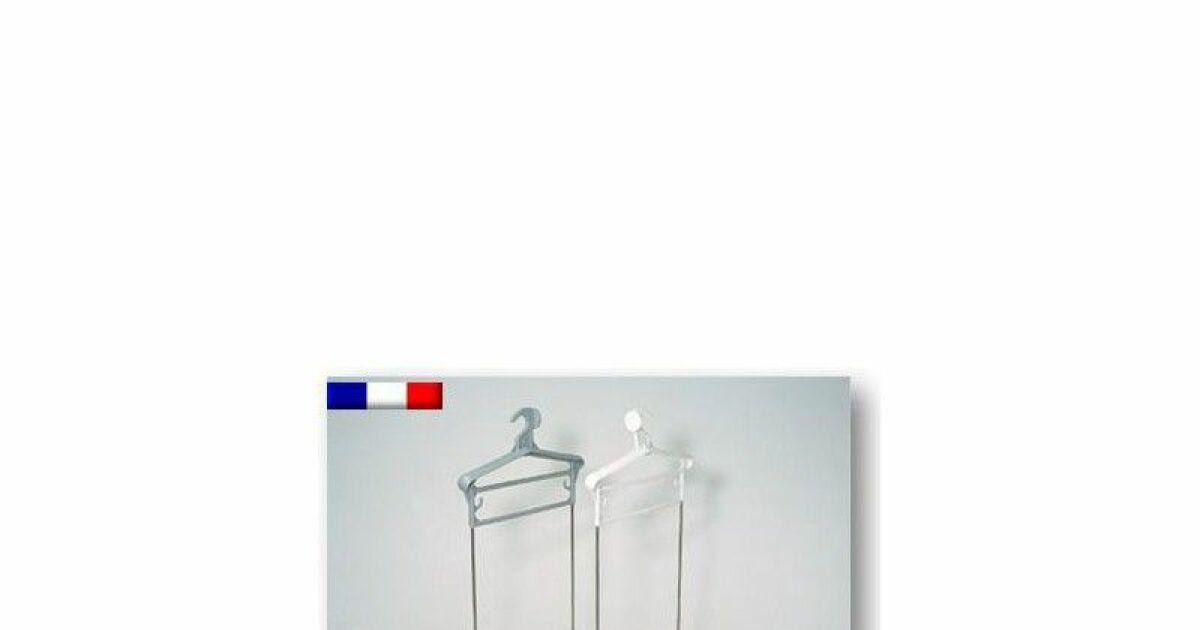 Porte habit piscine avec bac plastique tiges inox non for Piscine bac