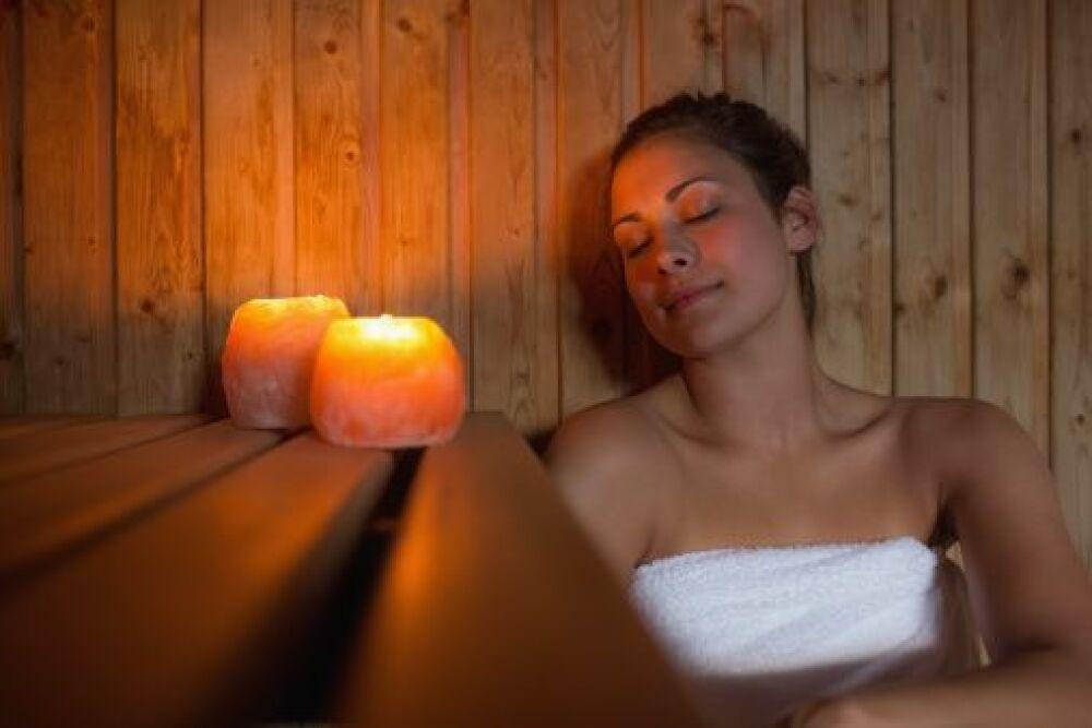 Pour l'achat d'un spa, Bluelagoonspas vous offre un sauna© Wavebreakmedia Ltd - Thinkstock