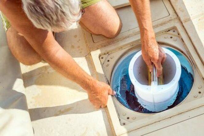 """Pré filtre de piscine<span class=""""normal italic petit"""">© Moultipix - Fotolia.com</span>"""