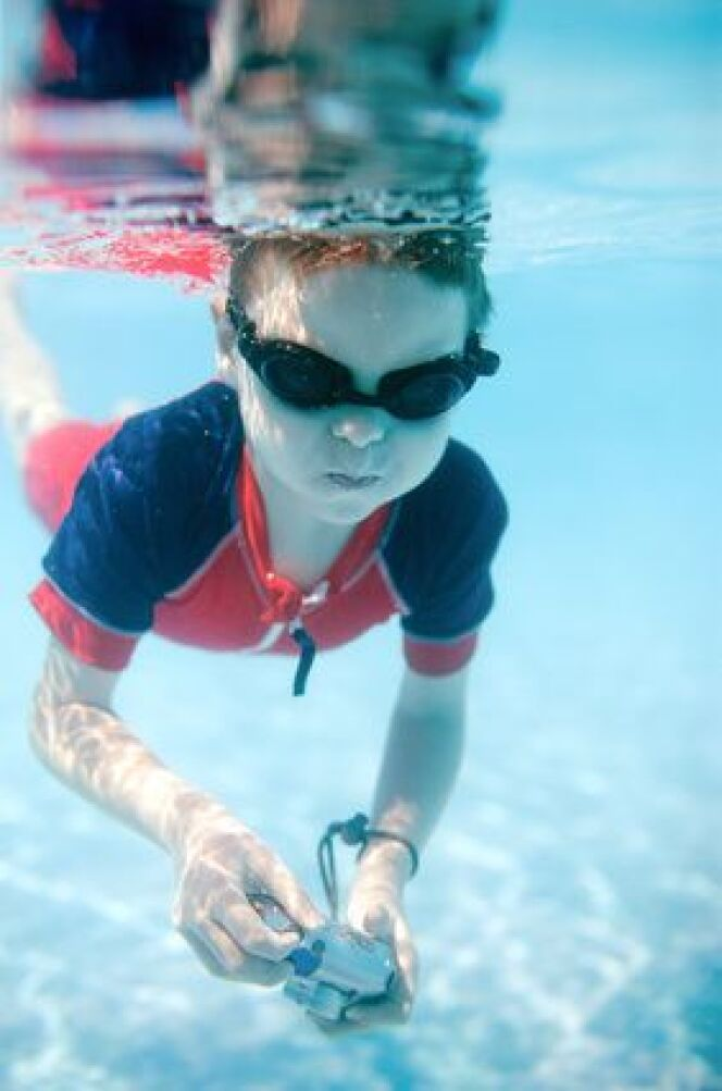 Prendre des photos sous l'eau grâce à des appareils photo étanches