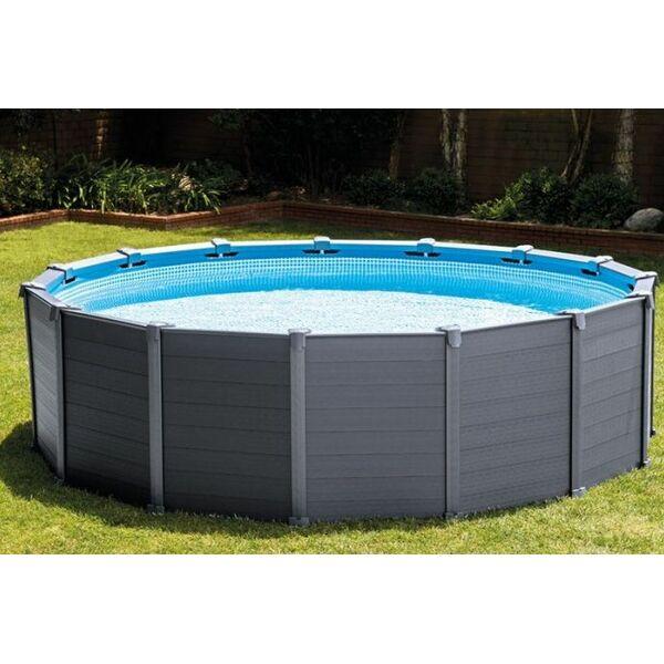 piscine tubulaire s'enfonce