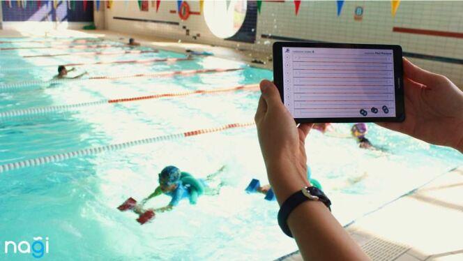 Prévenir les noyades avec Nagi Smartpool
