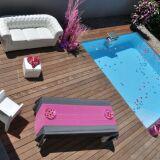 Au printemps, comment aménager l'espace autour de votre piscine ?