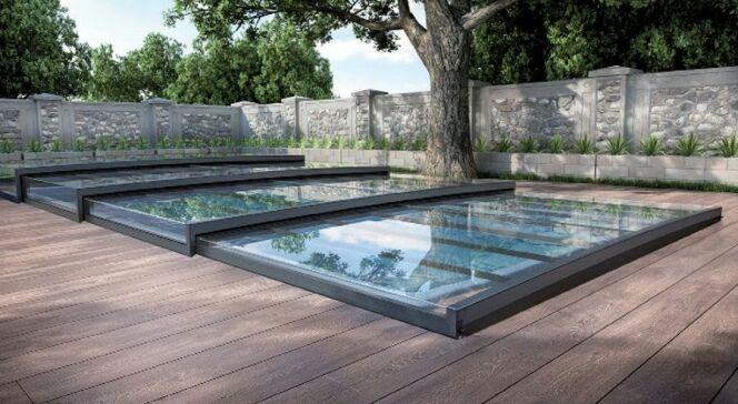 "Prix d'un abri de piscine plat : les différents tarifs<span class=""normal italic petit"">© Magiline</span>"