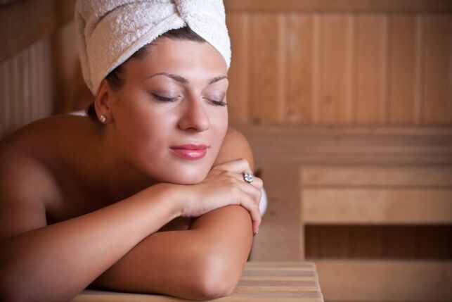 Profitez d'une séance de sauna avec un évaporateur de sel.