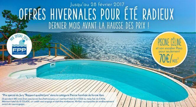 "Profitez des offres hivernales Piscines Waterair !<span class=""normal italic petit"">© Piscines Waterair</span>"