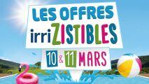 Les 10 et 11 mars 2016, Irrijardin lance ses « Offres Irrizsistibles » !
