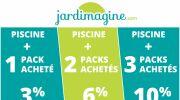 Profitez des remises Jardimagine pour votre piscine et ses accessoires
