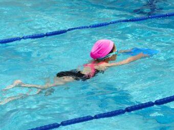 Programme d'échauffement pour les enfants en natation