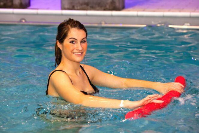 """Programme et exercices de natation pour se muscler<span class=""""normal italic petit"""">© Fotolia</span>"""