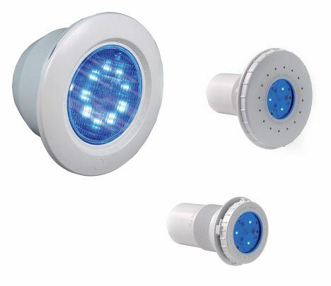 """Les projecteurs LED ColorLogic II disposent d'une longue durée de vie.<span class=""""normal italic petit"""">© Hayward Pool Europe</span>"""