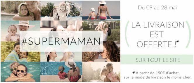 Promo de Fête des Mères Desjoyaux : livraison gratuite à partir de 150e d'achat sur le site.