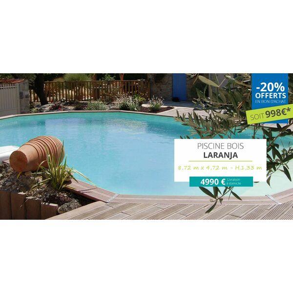 piscine hors sol bois promo good piscine octogonale en. Black Bedroom Furniture Sets. Home Design Ideas