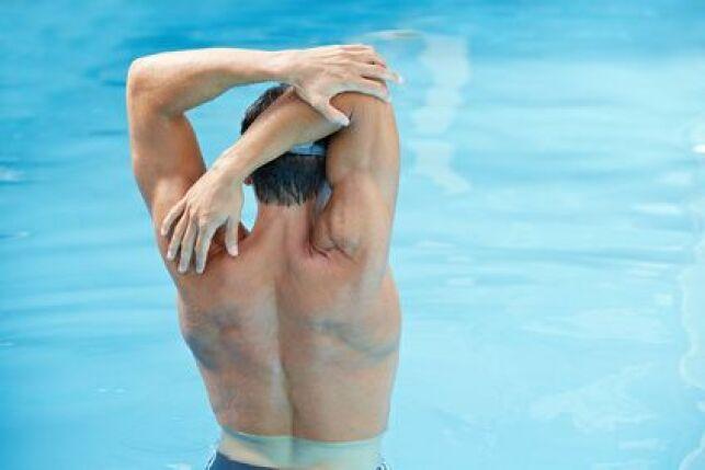Protéger ses coudes en natation