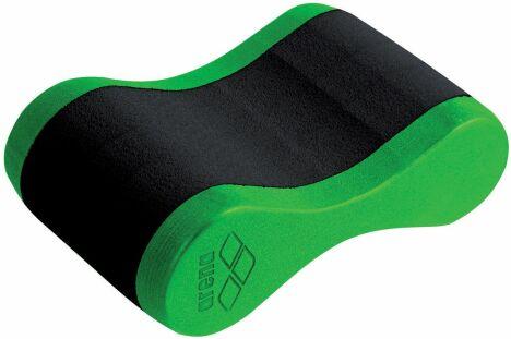 "Pullbuoy Freeflow, accessoire de piscine vert acidulé et noir Arena<span class=""normal italic petit"">© Arena</span>"